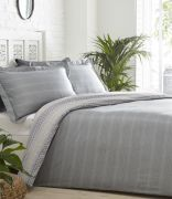 Portfolio Jori Duvet Cover Set Slate - Single 2