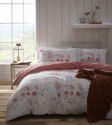 Portfolio Pasture Coral Duvet Cover Set - Single