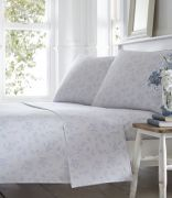Portfolio Pretty Floral Sheet Set Double - Blue