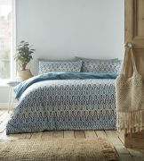 Portfolio Riley Duvet Cover Set Aqua - Superking