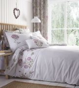 Portfolio Secret Garden Lavender Duvet Cover Set - Superking