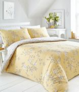 Portfolio Yasmina Duvet Cover Set Ochre - Single