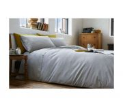 Racing Green Austin Silver Duvet Cover Set - Double