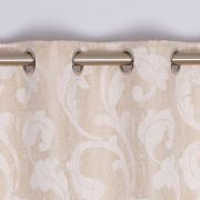 Rochelle Eyelet Curtains Champagne 66