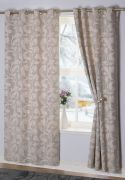 Rochelle Eyelet Curtains Duck Egg 66