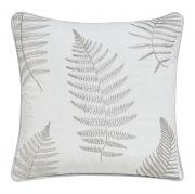 Sanderson Alencon Cushion 40x40cm Dove Silver