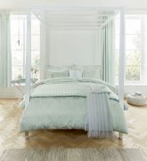 Sanderson Alencon Duvet Cover Duck Egg - King