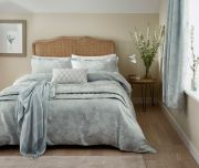 Sanderson Lyon Duck Egg Duvet Cover - Double