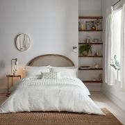 Sanderson Sibyl White Duvet Cover - Superking