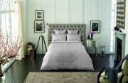 Sheridan Gratten Duvet Cover Set Grey - Double