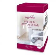 Snuggledown Premium Soft As Down 10.5 Tog Duvet - Double