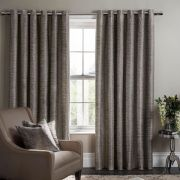 Studio G Campello Charcoal Readymade Curtains - 90