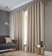 Studio G Catalonia Natural Readymade Curtains 90