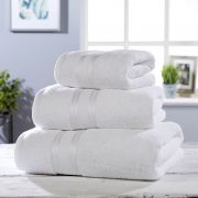 Vantona 100% Cotton 550gsm Bath Sheet - White