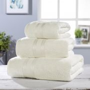 Vantona 100% Cotton 550gsm Bath Towel - Cream