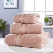 Vantona 100% Cotton 550gsm Bath Towel - Dusky Pink