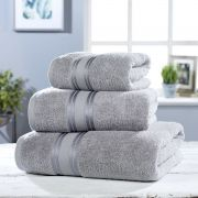 Vantona 100% Cotton 550gsm Bath Towel - Grey