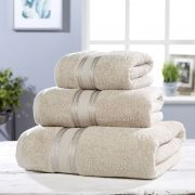 Vantona 100% Cotton 550gsm Bath Towel - Stone