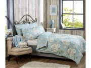 Vantona Laura Duck Egg Duvet Cover Set - King