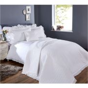 Vantona White Collection Romantica European Pillowcase 65 x 65cm